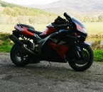 and for those days when ya just wanna get there fast, a ZX9R
