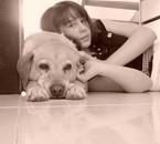 ♦ Moi avec ma chienne ♦
