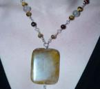 quartz jaune et oeil de tigre