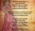 "paroles de ""i'am babygirl-thea"""
