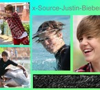 Montage de Justin au Bahamas