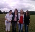 Marine , Amandine , Elodie et Moi