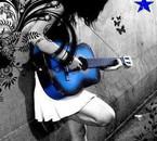 guitariste fille