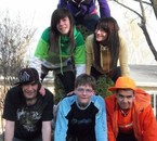 Audee, Audee, Pascale, Christo, Joel & Mic (L)
