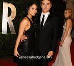 Vanessa and zac at vanity fair oscar after-party this 07/03/