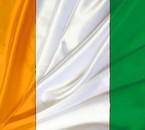 Le Drapeau dmon pays, la Côte d'Ivoire