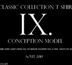 CONCEPTION 0.2: CLASSIC COLLECTION AOUT 2010