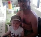 mon homme et ma fille estelle