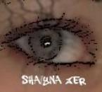 mon oeil avec des lentii