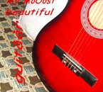 My Red guitar