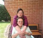 avec ma maman qui me comprend si bien :-)