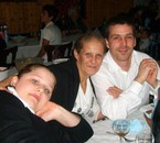 mon fils franck 29 ans ma fille eloise15ans et moi