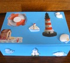 boite de cigares décorée