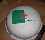 gateau au drapeau Algérien