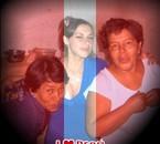 Izabel, moi y ma Mama ♥