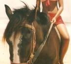 couz a cheval