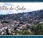 Sada la ville d'où je viens à Mayotte