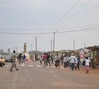 quartier populaire de Bangui