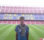 Au Camp Nou.
