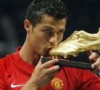 Ronaldo a recu le Soulier D'or