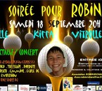 spectacle de soutien à Robin le 18 septembre à vitrolles
