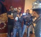 tournage de  clip gangsta familly