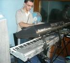 en mode zombie dans le petit studio