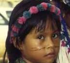 Petite amérindienne