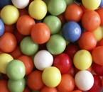 Boules de chewing-gum