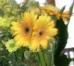"""Une double fleur """"ma passion jardin"""""""