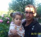 moi avec petite cousine