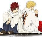 Naruto et Gaara <3