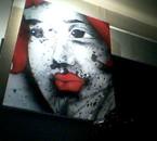 peinture artiste evreux expo au green café