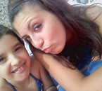 ma cousine avec ma fille au portugal