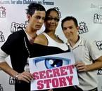 Pierre , Melaine & Dadoux whit Secret story <3
