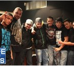 G-nose et Nelinho avec PAPI SANCHEZ et Barrio 68