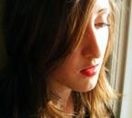 Un portrait de moi, l'air pensive ^^