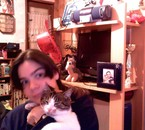 ma soeur é son chat