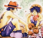 Ace-luffy= trop kawaii!