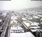 la suisse sous la neige ici la chaux de fonds