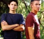 Nathan et Lucas scott