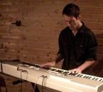 Romain en studio