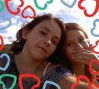 me and ma ch'tite soeur