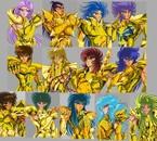 """"""" Gold Saints """" Saint Seiya"""
