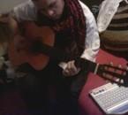 moi quand je jou de la guitar