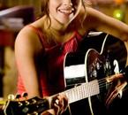 La fille à la guitar