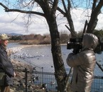 I was covered and interviewed by the TV news about Coypu.