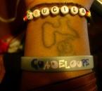 mon tatoo gwada et la premiere lettre de mon prenom