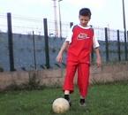 Moi qui joue au foot