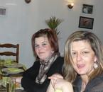 ma femme a gauche et ma belle soeur
